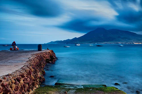 Spain - Cabo de Gata: Fishing Blues | by Nomadic Vision Photography