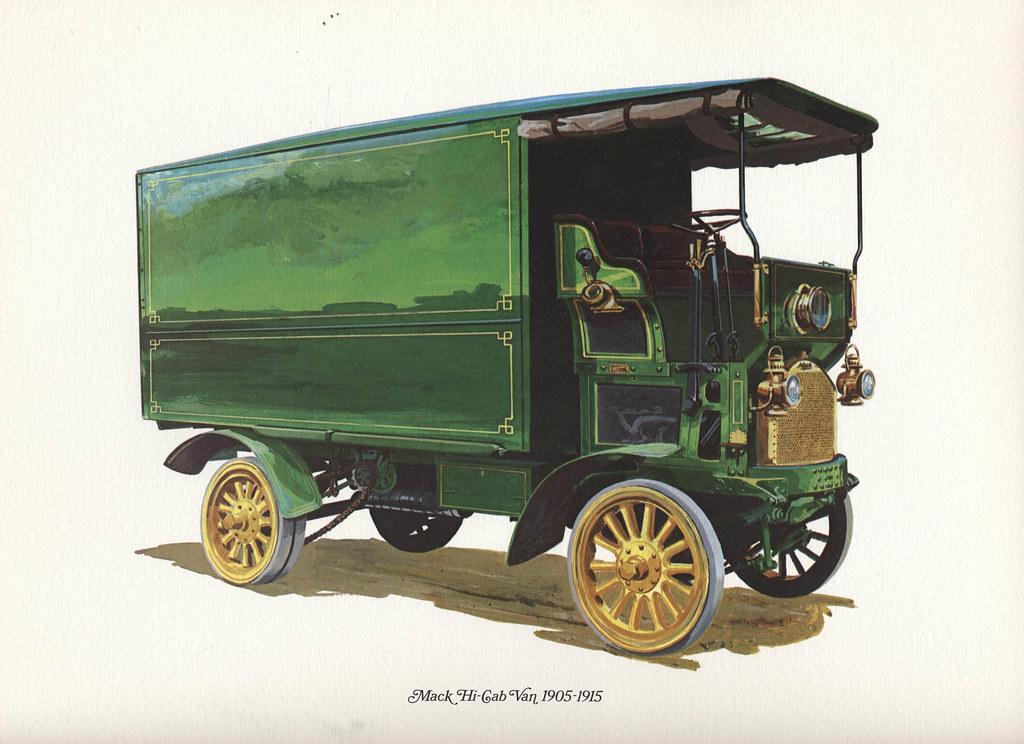 Jobs In Trucks >> Mack Hi-Cab Van 1905 - 1915   In 1975 Mack Trucks came out ...