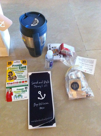 Destination Wedding Welcome Bag Contents2/17 The DIY or ...