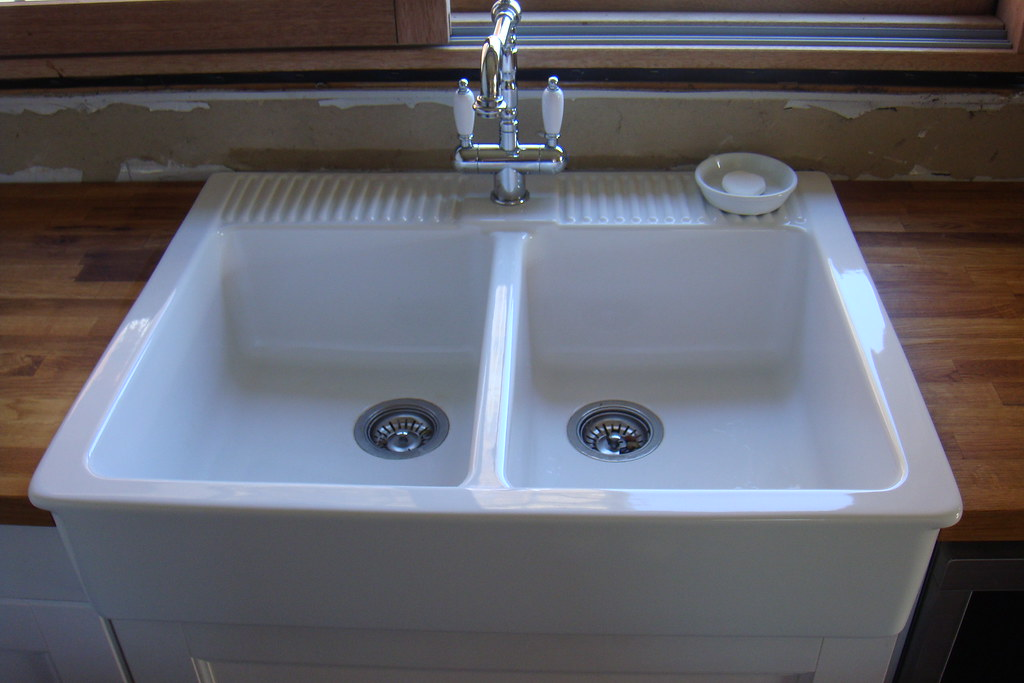 Ikea Double Sink Kitchen