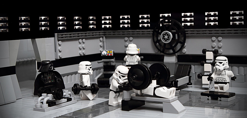 Hardcore stormies hit the gym it would be no death star
