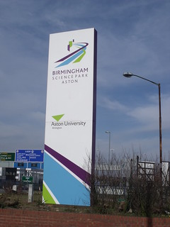Birmingham Science Park Aston - Holt Street - sign | by ell brown