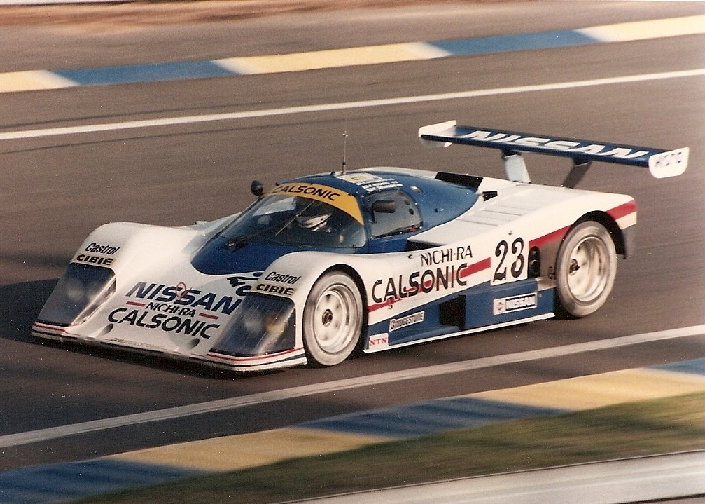 nissan r87e le mans 1987 the nissan of masahiro hasemi flickr. Black Bedroom Furniture Sets. Home Design Ideas