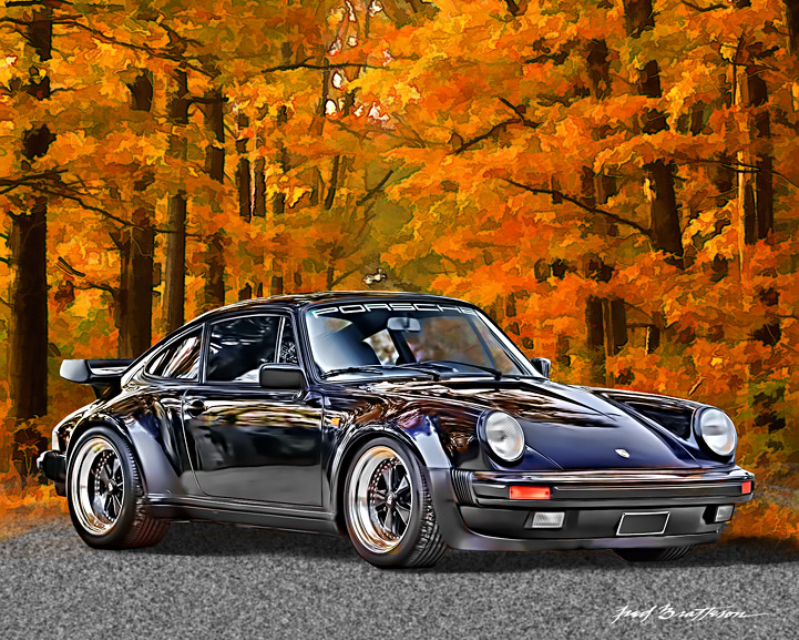 Porsche 911 Turbo Coupe In 1974 Porsche Introduced The
