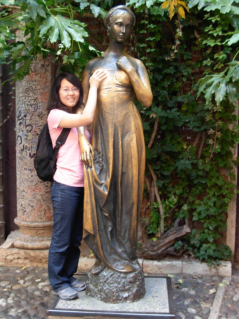 Casa Di Giulietta Verona Juliet S Statue Statue De
