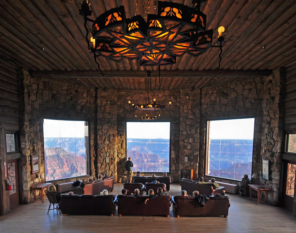 Grand Canyon Lodge North Rim 0093 In The Sun Room Grand