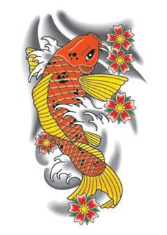 Sketc of japanese koi fish tattoo drawing 3 tattoo vietnam flickr - Dessin carpe koi ...