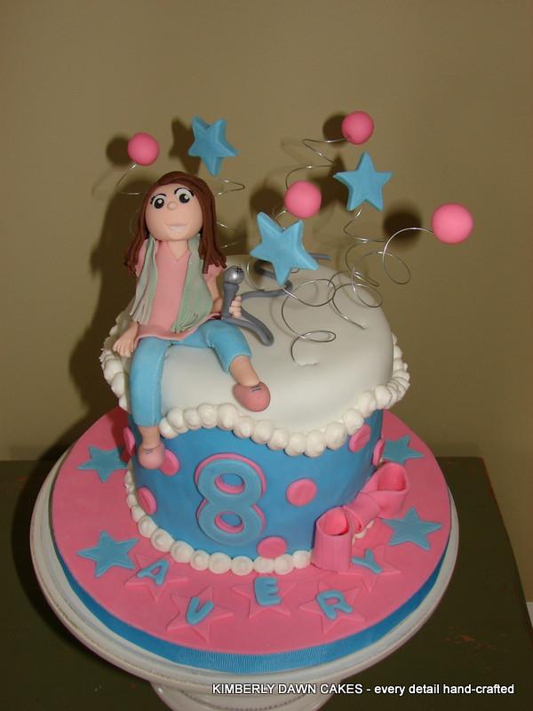 Dawn Birthday Cake