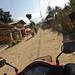 Riding Through Lao Village