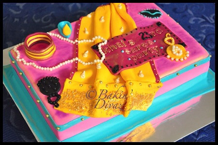Bollywood themed cake   Customer is a huge fan of ...