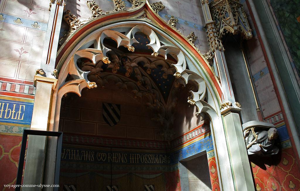 chapelle palais jacques coeur bourges viste du palais ja flickr. Black Bedroom Furniture Sets. Home Design Ideas