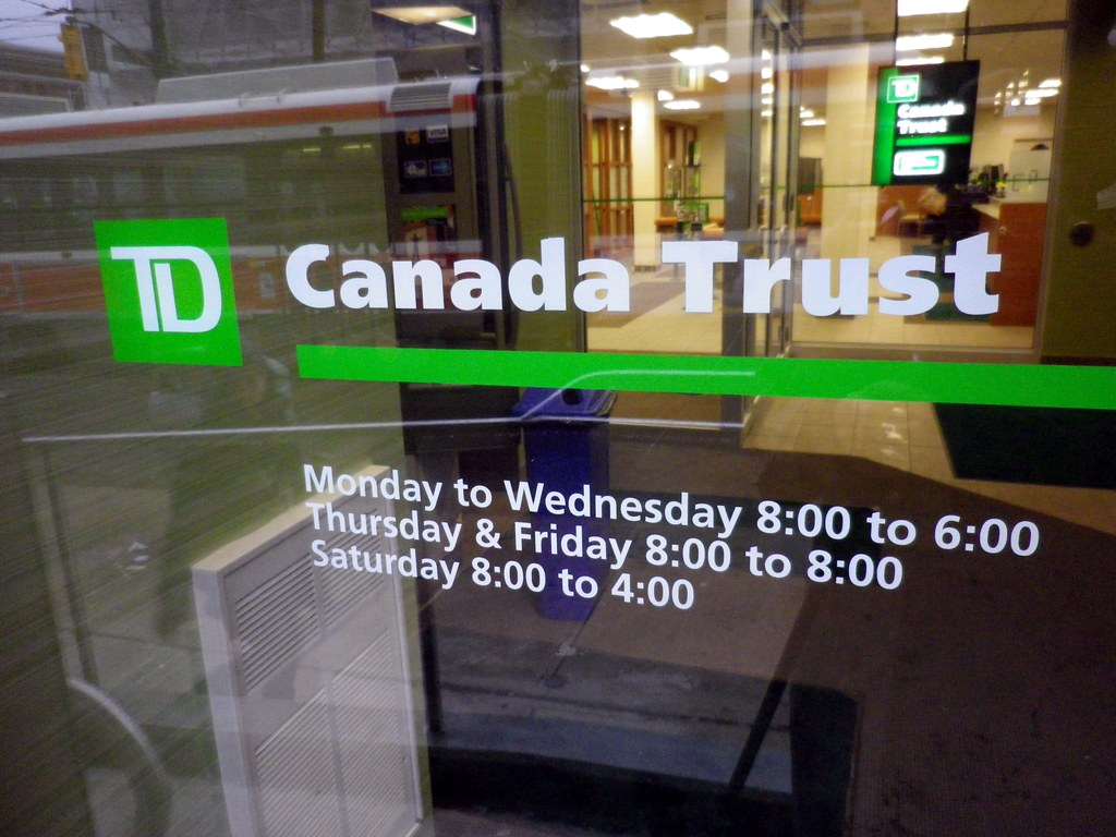 an overview of td bank The toronto–dominion bank (french: banque toronto–dominion) is a canadian multinational banking and financial services corporation headquartered in.