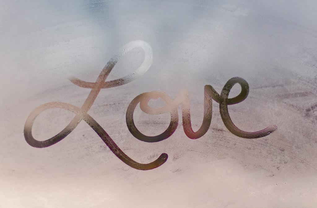 Image Gallery love written in cursive