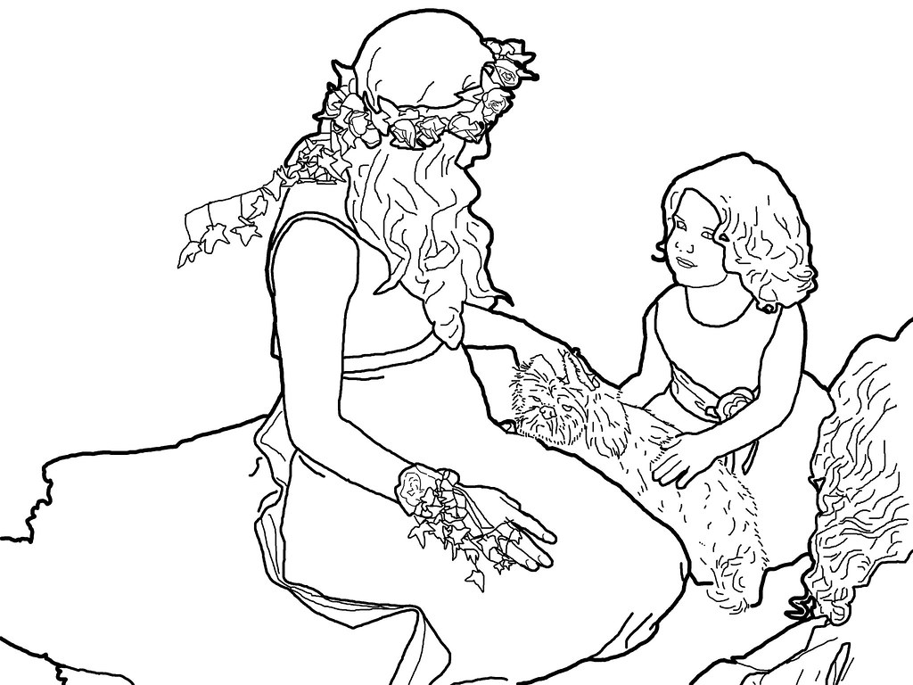 wedding coloring page coloring book style picture of bride u2026 flickr