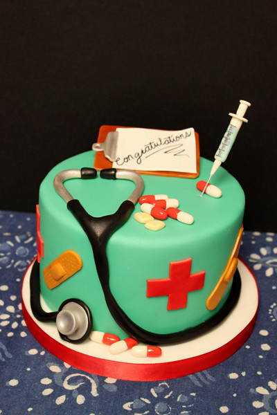 Cake Decorating Medical Theme : Nurse Nurse/Doctor medical themed Cake Tracy Chong ...