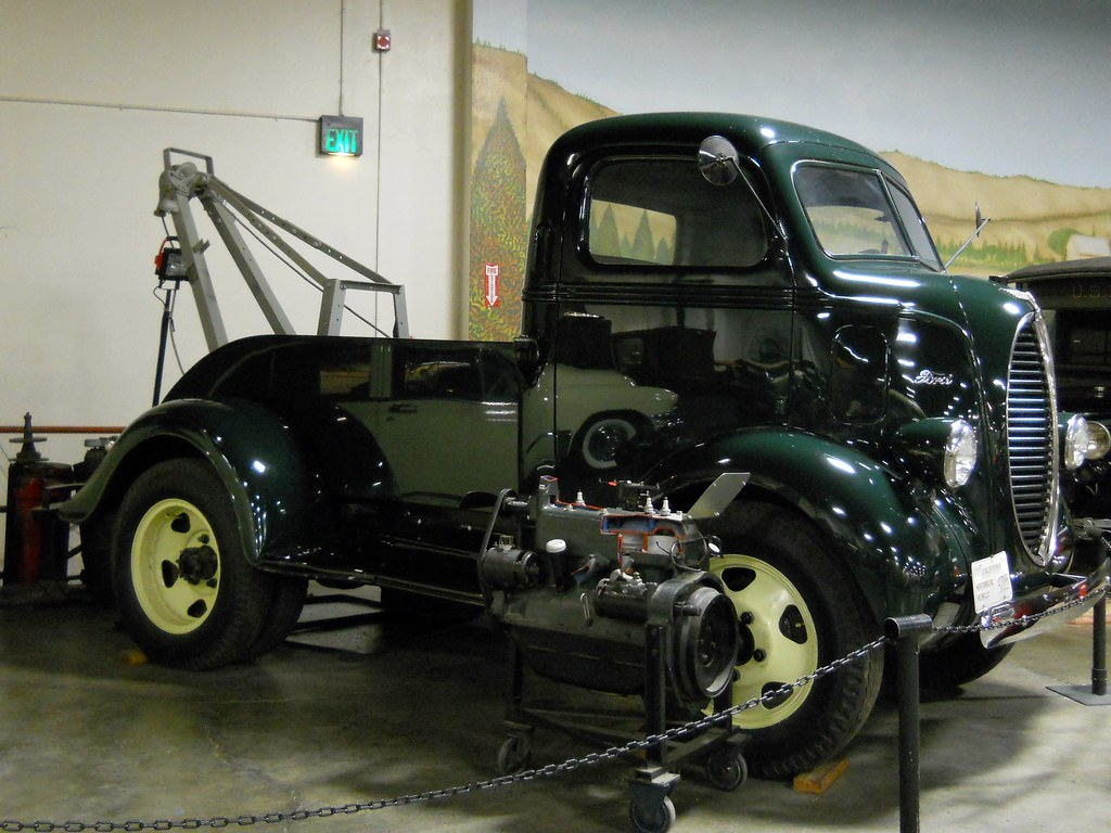New Ford Truck >> 1940 Ford COE Tow Truck 4 | Photographed at the California A… | Flickr