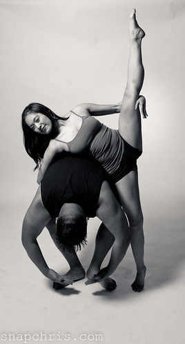 Lisa Gauyan : flexible dancer in a beautiful pose | by tibchris
