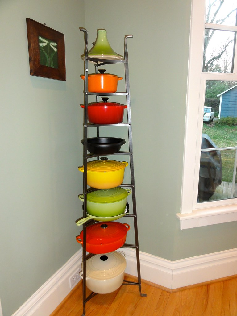 My Heavy Metal Collection 2 My New Enclume Pot Rack