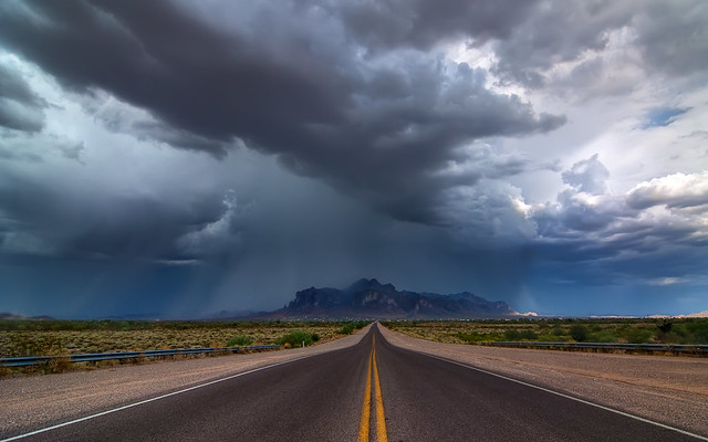 Monsoon Over The Superstitions