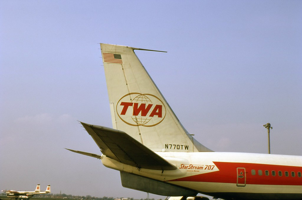Twa Starstream 707 In Close Up 1969 I Took These