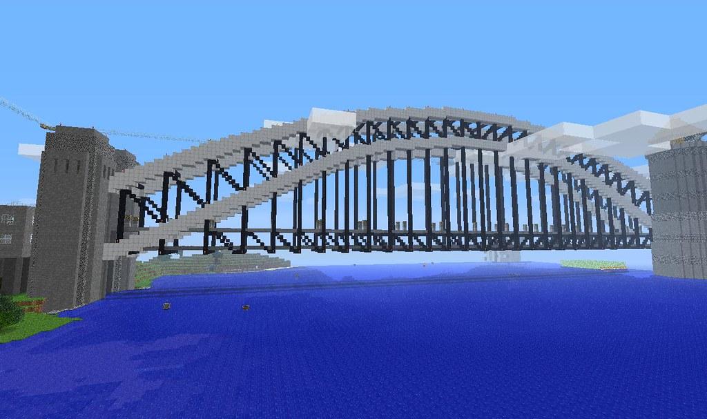 картинки майнкрафт красивые мосты #10