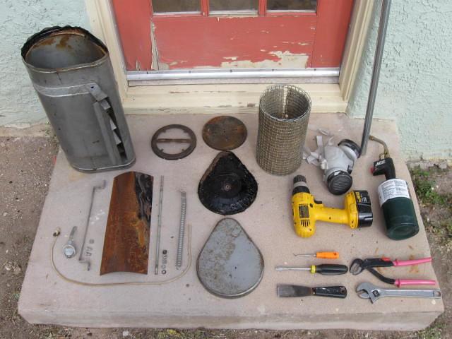 Vintage Evaporative Cooler : Thermador restoration all tools and parts vintage