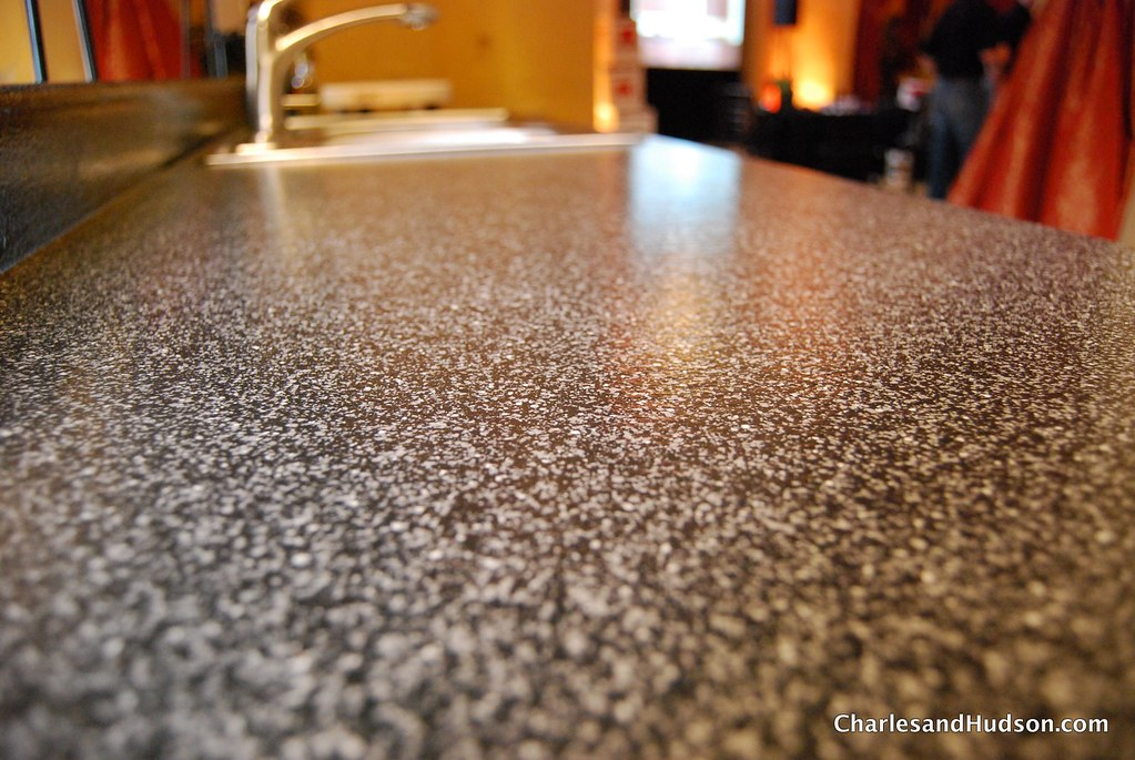 Spray Kitchen Countertops