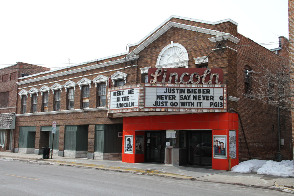 Lincoln Il Lincoln Illinois Movoe Theater Logan County