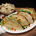 Tacos and chips cake