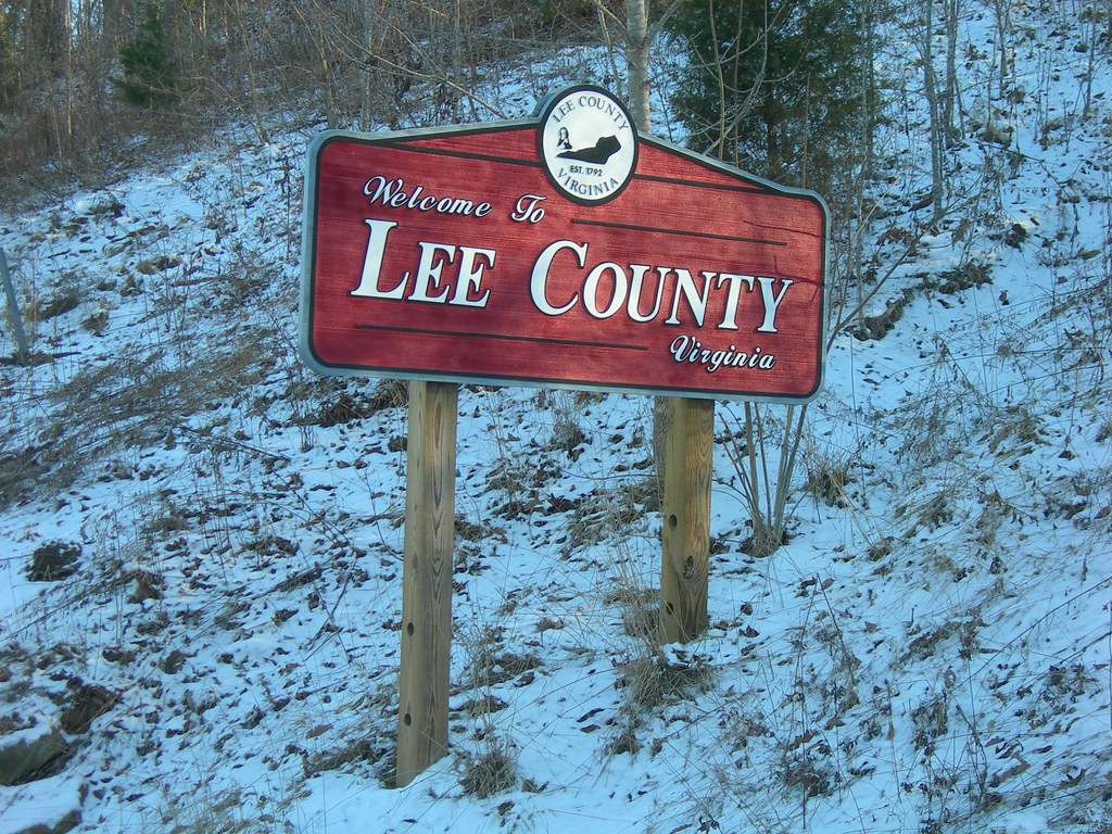 Welcome To Lee County Va Us Hwy 421 At The Ky Va State