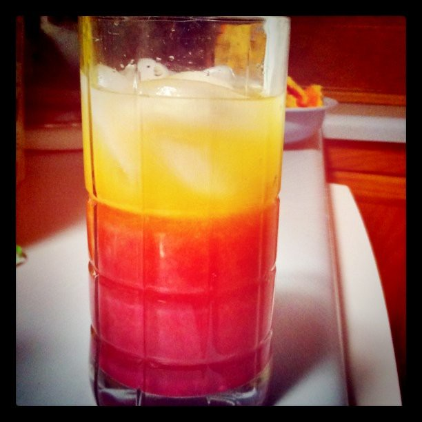 Tequila Sunrise | Tequila sunrise with fresh squeezed ...
