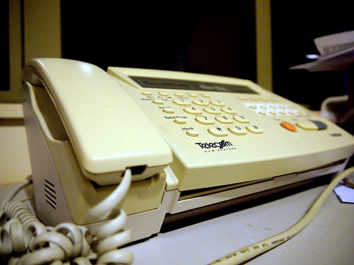 Day Sixty Four - Fax Machine | by Yortw