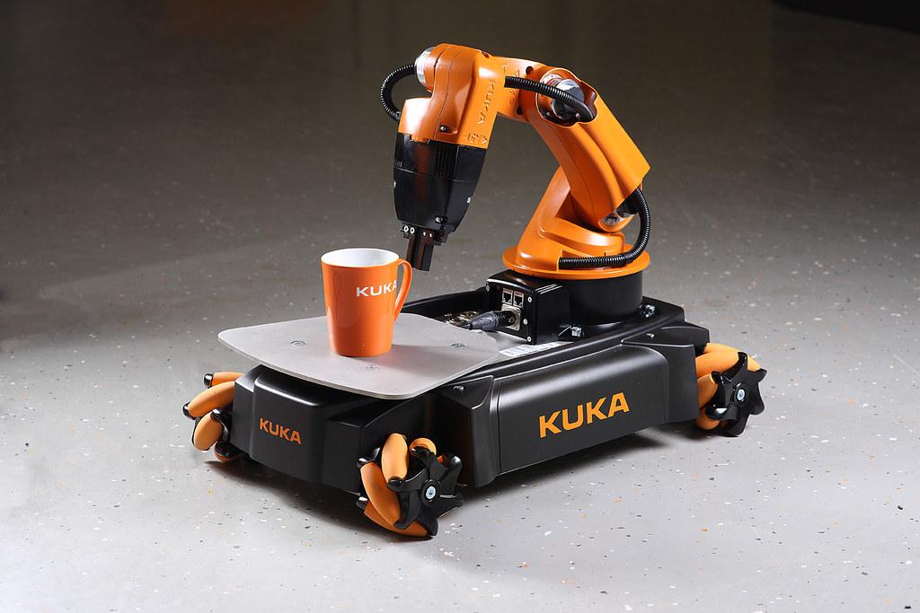 Kuka Youbot With Kuka Coffee Mug Kukayoubot Flickr