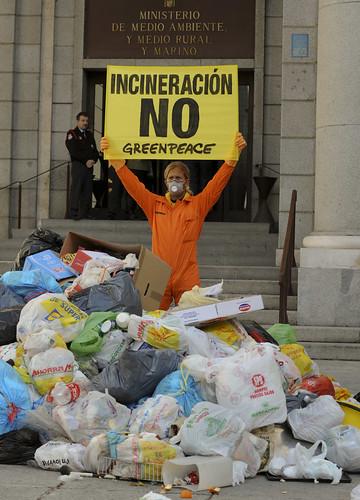 No a la Incineración de basuras