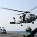 Sea Hawk launches from USS Ronald Reagan during relief efforts in Japan following earthquake.