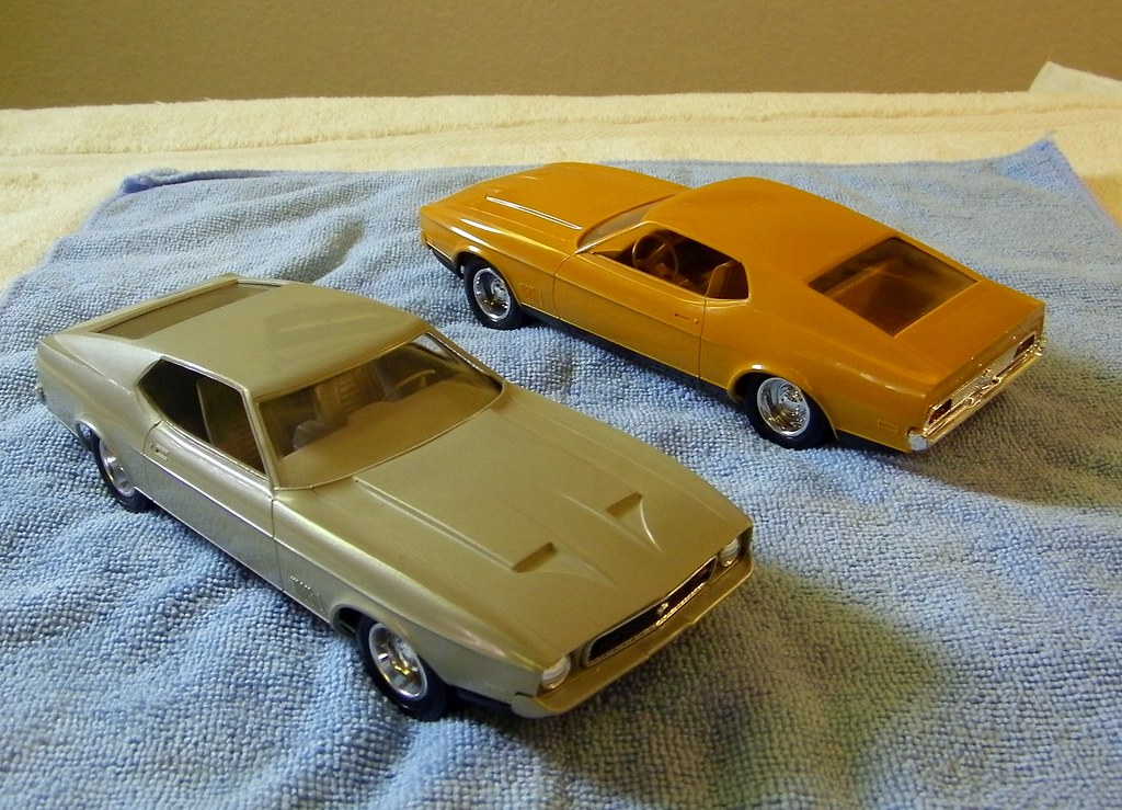 1971 And 1972 Ford Mustang Mach I Promo Model Cars Flickr