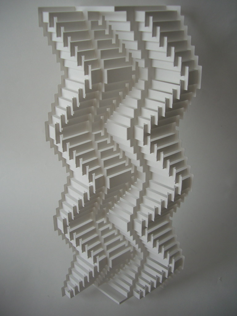concertina surfaces 1 | www.popupology.co.uk series of abstr ...