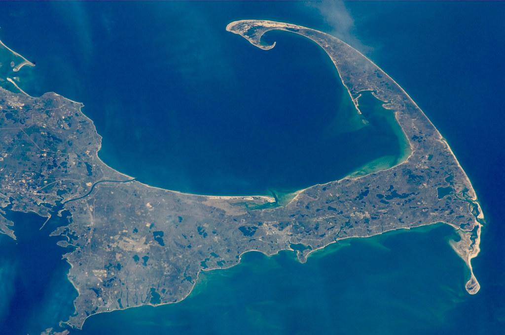 Cape Cod Satellite Image Cape Cod Massachusetts Nasa