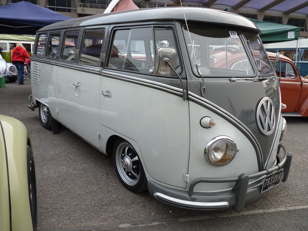Vw Bus Two Tone The Volkswagen Type 2 Also Officially