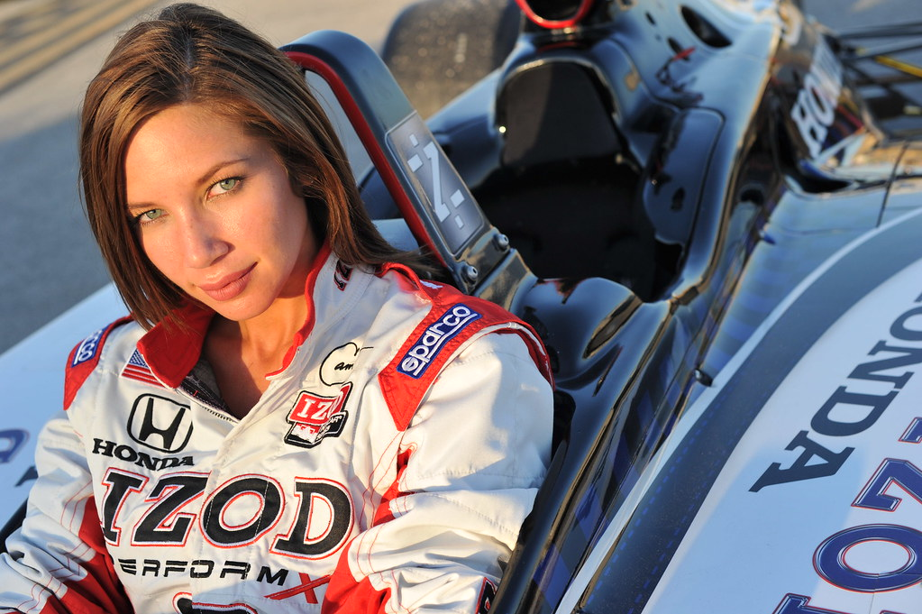 Izod Indycar Series Trophy Girl In The Izod Honda 2 Seater