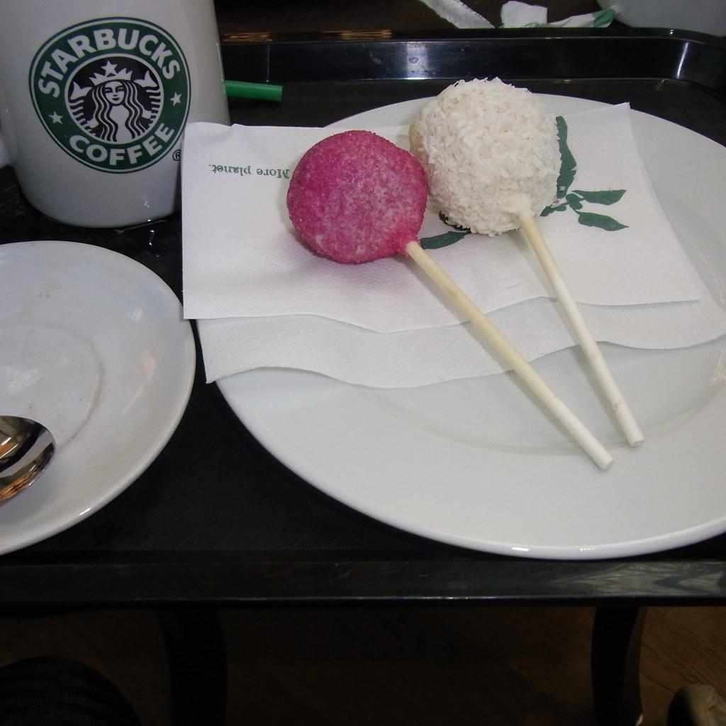 Cake Pops Like Starbucks