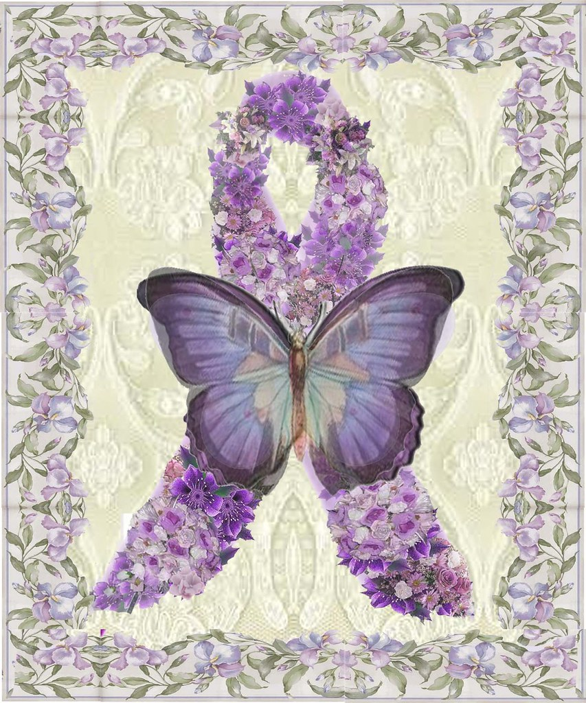 HMD Purple Butterfly- Seizure Disorders and Fibromyalgia ...