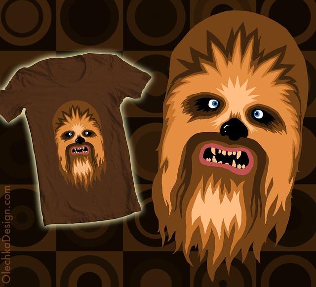 Chewbacca Shirt (Star Wars)