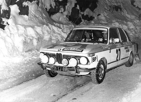 Chasseuil Amp Baron Bmw 2002ti Monte Carlo Rally 1973 F46