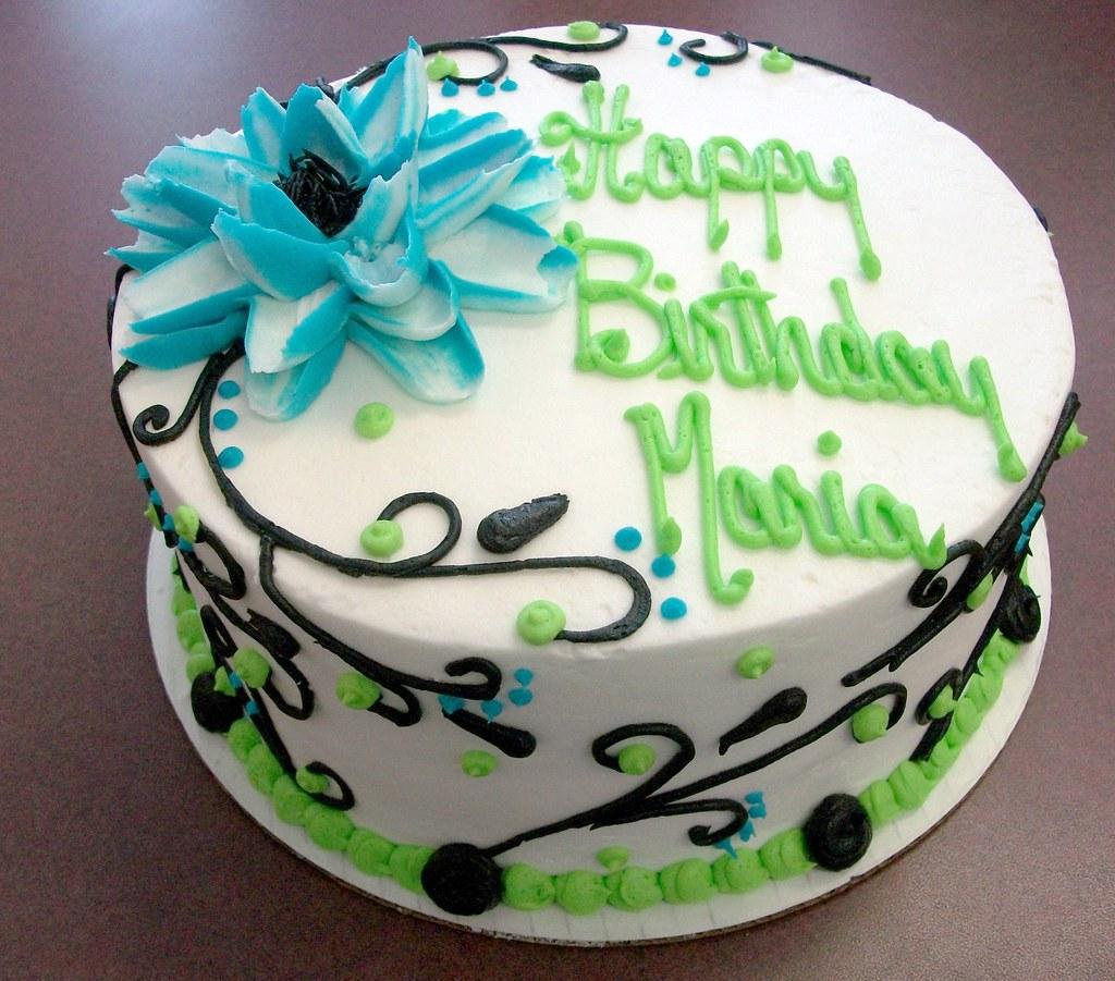 Maria Birthday Cake