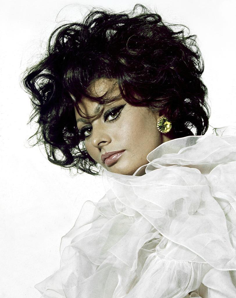 Sophia Loren   Italian actress Sophia Loren photographed