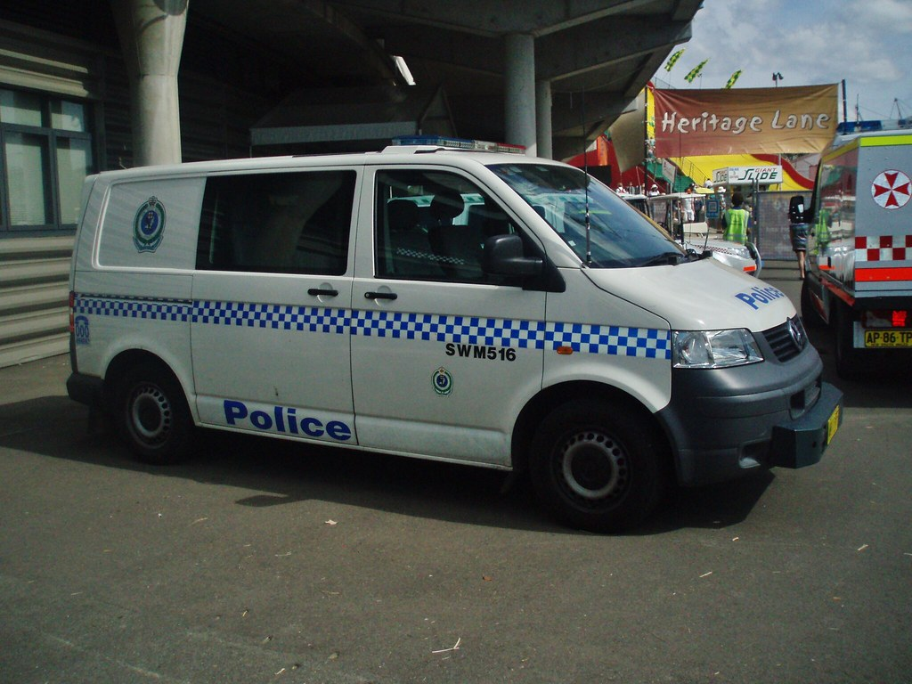 2005 Volkswagen T5 Transporter Paddy Wagon Nsw Police