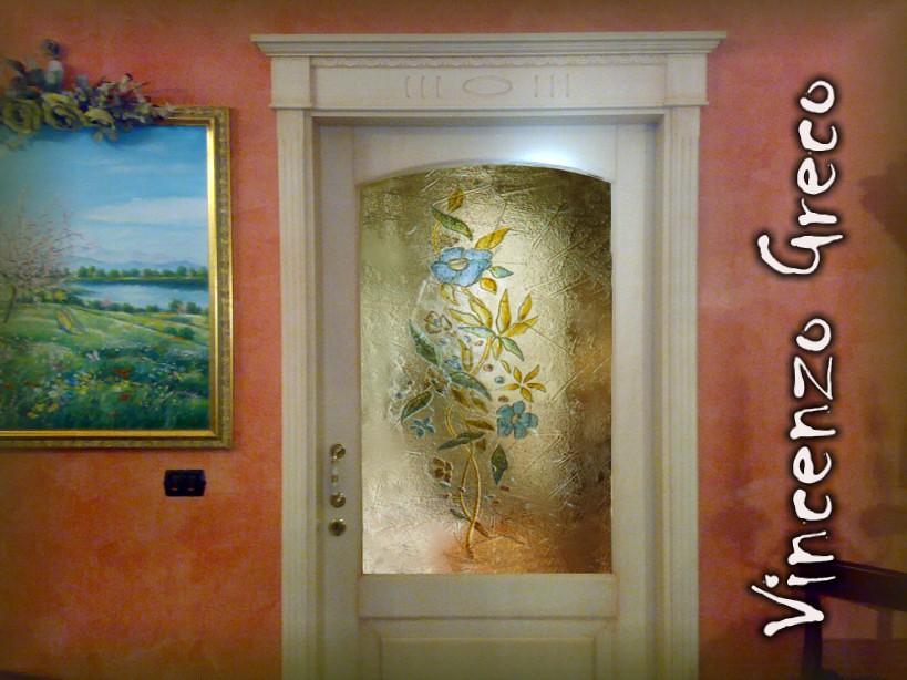 Vetrae artistiche per porte interne in vetrofusine flickr - Vetri decorati per finestre ...