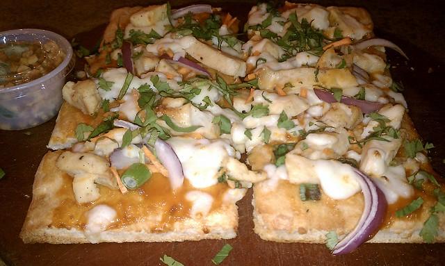 Thai Satay Chicken Flatbread Pizza @ Cosi, Plainview NY   Flickr ...