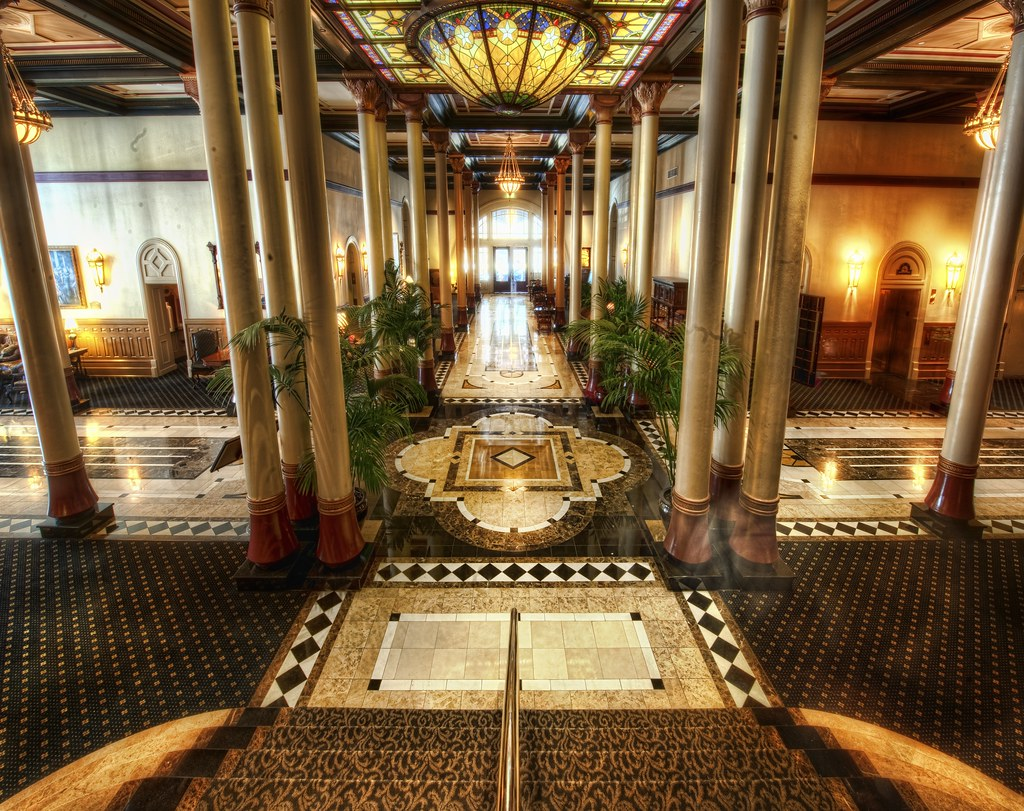 Inside The Driskill Well Here It Is The Awesome Hotel